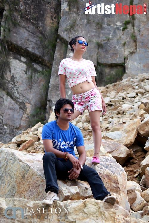 Raz verma & Actress Sashi Khadka 123