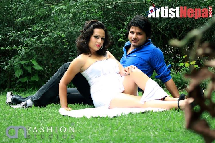 Raz verma & Actress Sashi Khadka 4