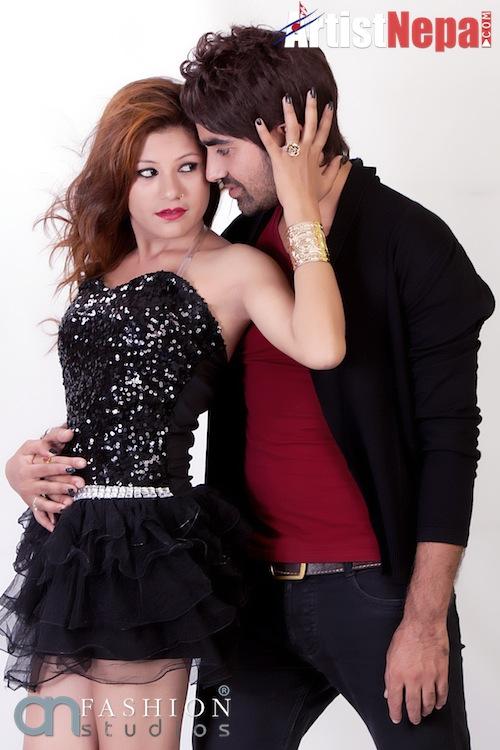 Nayan Dc and Rina Nepali , couple model