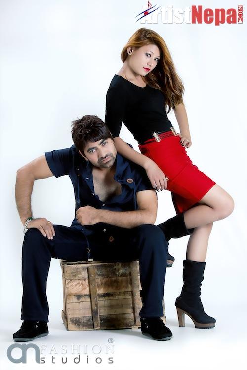 Nayan Dc and Rina Nepali , couple model 10