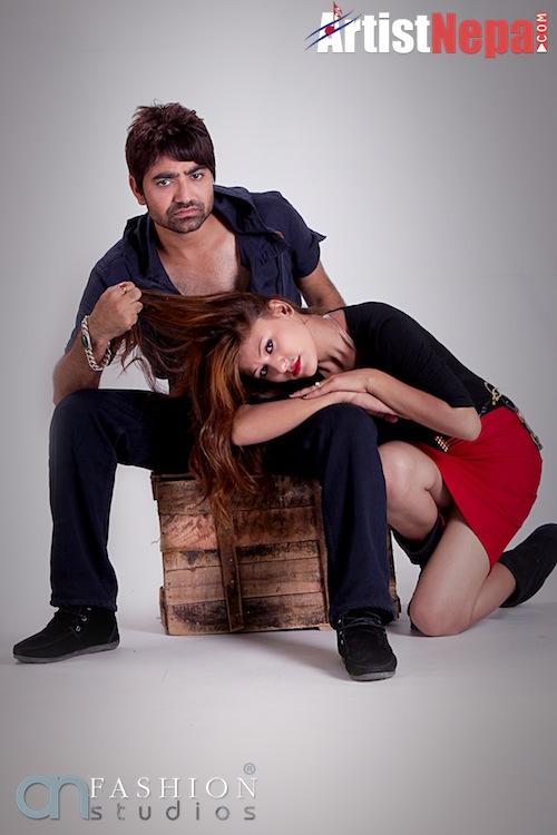Nayan Dc and Rina Nepali , couple model 11