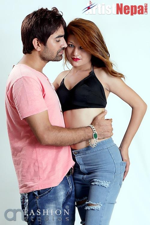 Nayan Dc and Rina Nepali , couple model 13