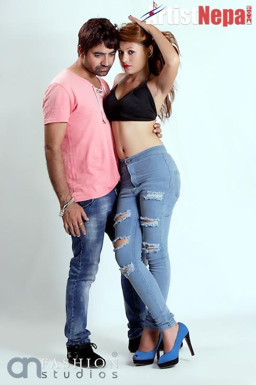 Nayan Dc and Rina Nepali , couple model 14