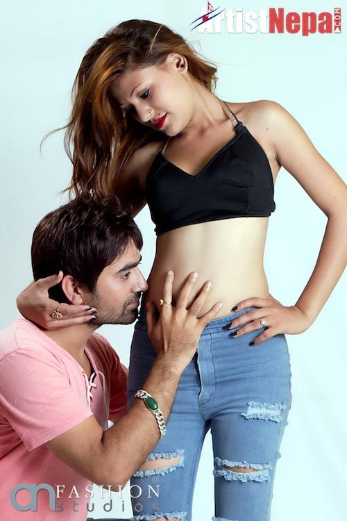 Nayan Dc and Rina Nepali , couple model 15