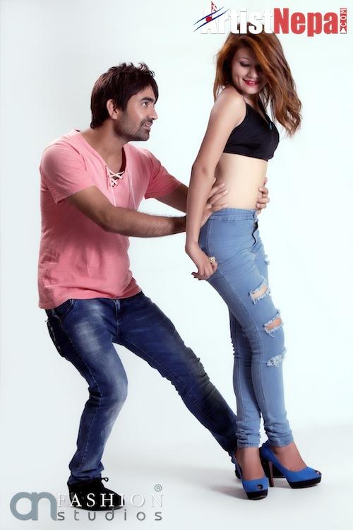 Nayan Dc and Rina Nepali , couple model 16