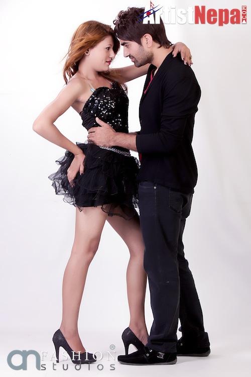 Nayan Dc and Rina Nepali , couple model 2
