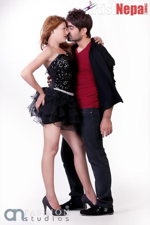 Nayan Dc and Rina Nepali , couple model  3