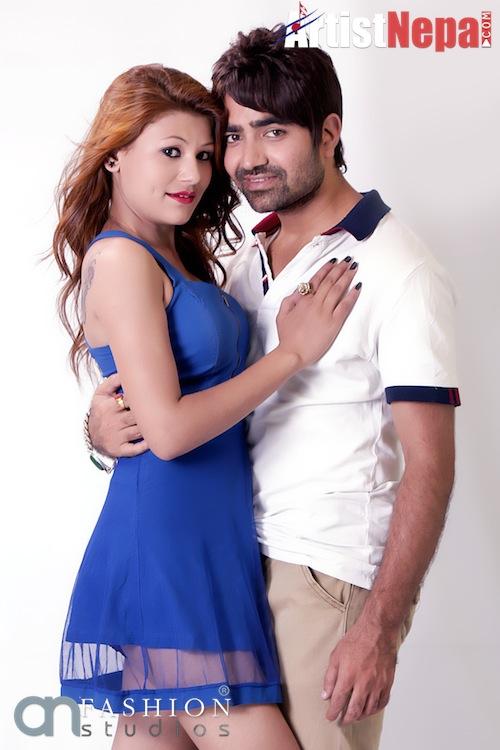 Nayan Dc and Rina Nepali , couple model 5
