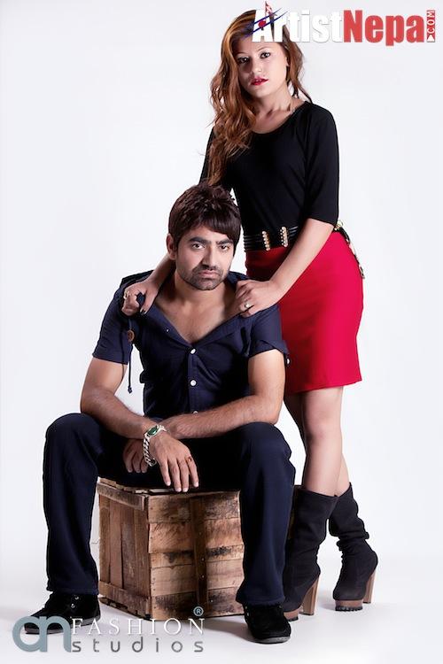 Nayan Dc and Rina Nepali , couple model 8