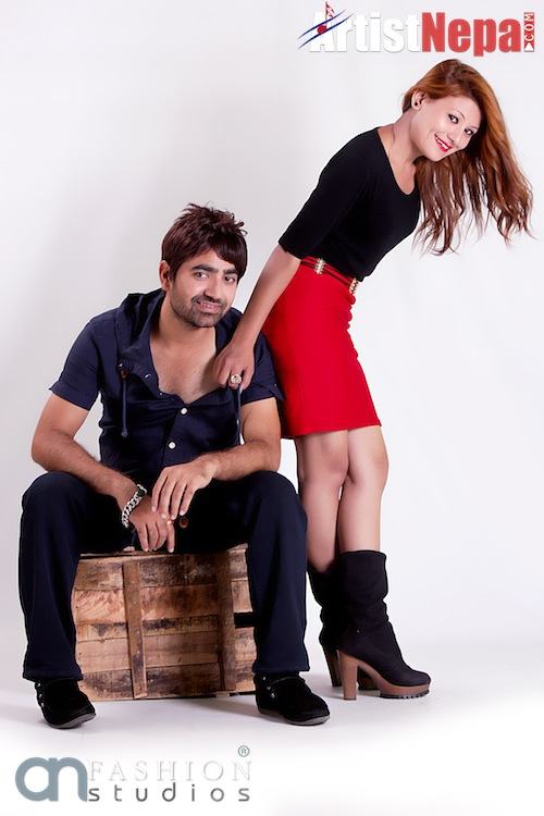 Nayan Dc and Rina Nepali , couple model 9