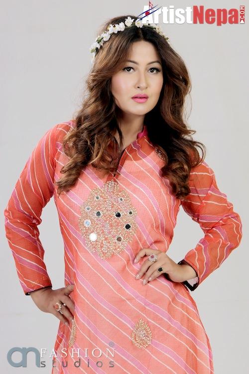 ArtistNepal - Miss Nepal - Usha Khadki - Photogallery - Biography - Nepali Model - Nepali Actress 6