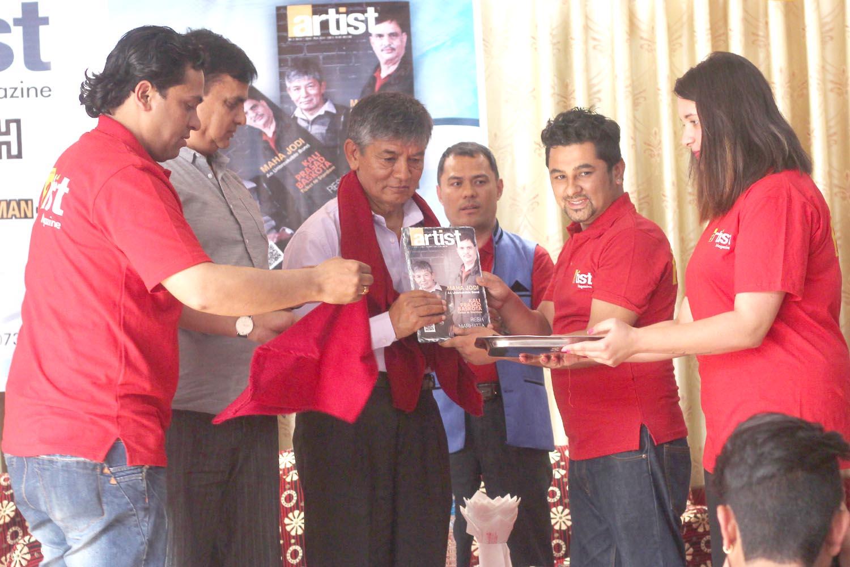 Maha Jodi Launched Artist Magazine!! | Artist Sansar