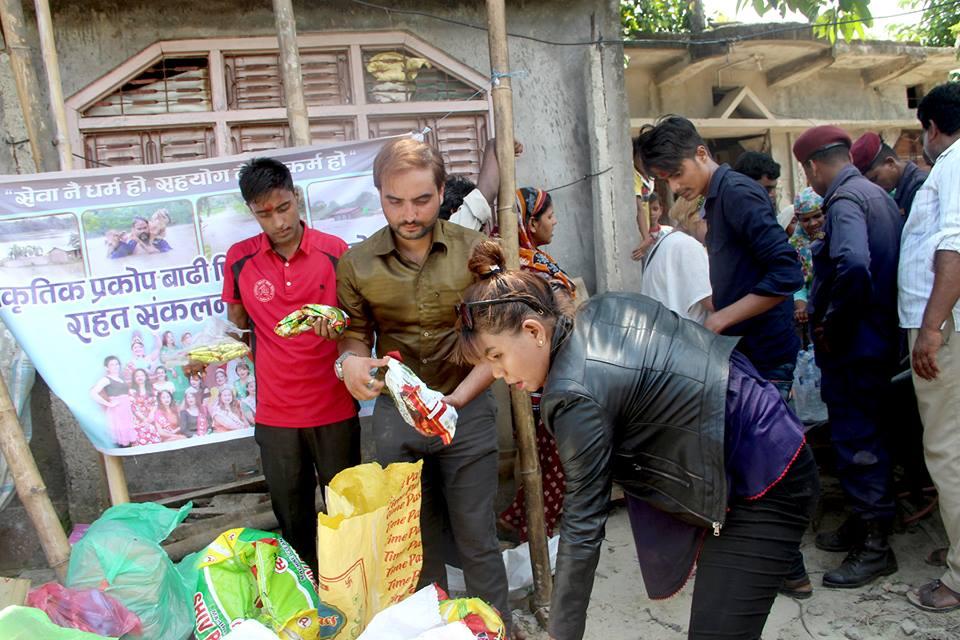 amazone Entertenment - rahat saptari flood artistnepal nava dhungel himani subba kamal khatiwoda (7)