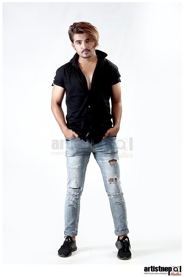 Tapan Ghimire - Nepali Model - ArtistNepal Studios (1)