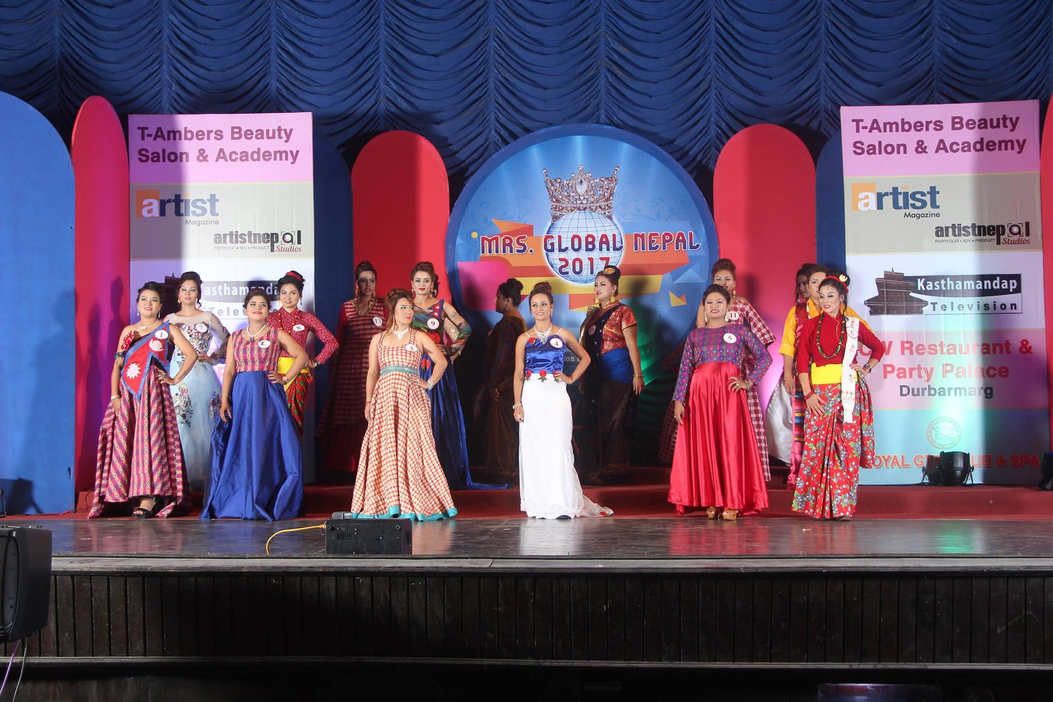 mrs global nepal 2017 final 10