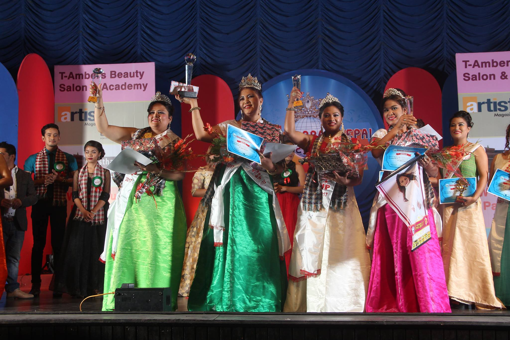 mrs global nepal 2017 final 2