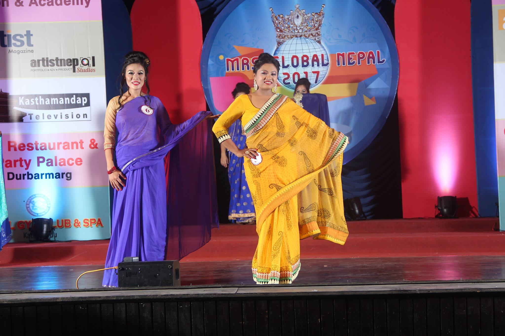 mrs global nepal 2017 final 8