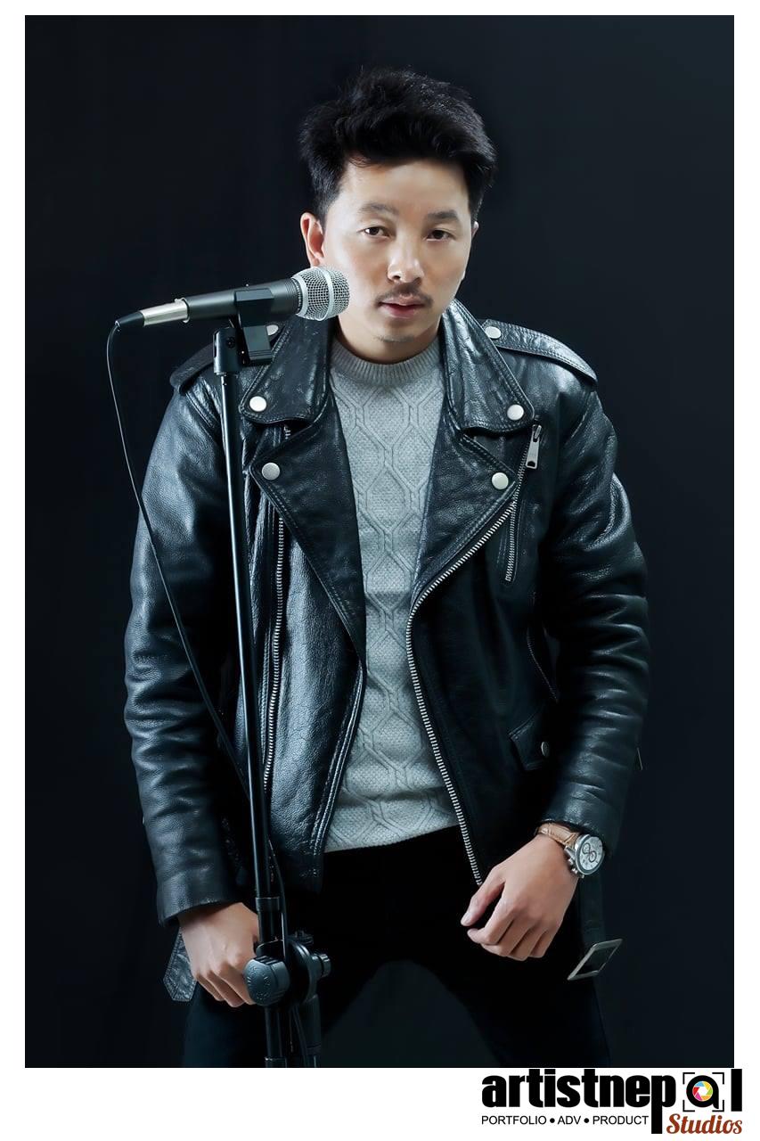 singer-laxman-limbu photoshoot ArtistNepal