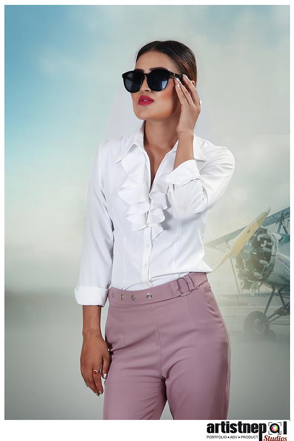 Nepali Model - Sarala Thapa - Nepali Actress - ArtistNepal Studios (16)