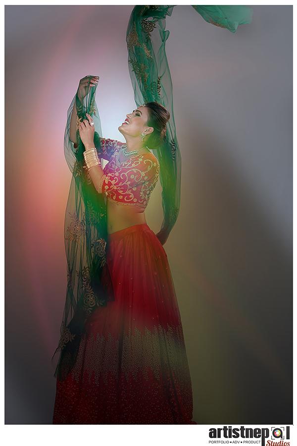 Nepali Model - Sarala Thapa - Nepali Actress - ArtistNepal Studios (2)