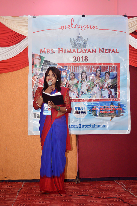 Mrs Himalayan Nepal - talent show 17