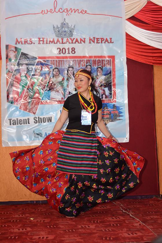 Mrs Himalayan Nepal - talent show 18