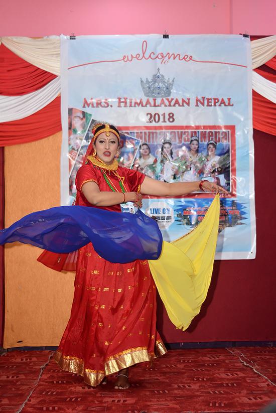 Mrs Himalayan Nepal - talent show 21