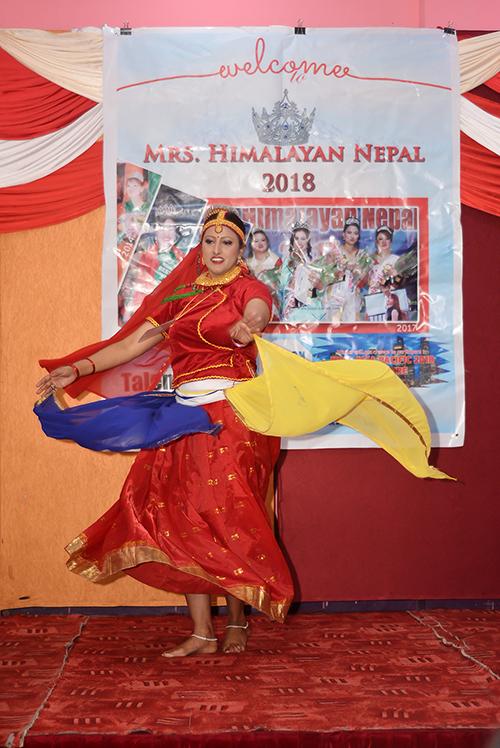 Mrs Himalayan Nepal - talent show 22