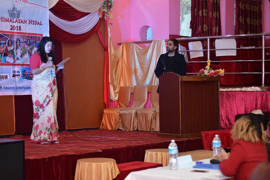 Mrs Himalayan Nepal - talent show 8