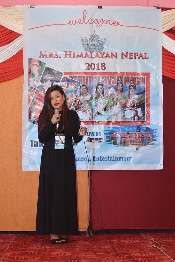 Mrs Himalayan Nepal - talent show11