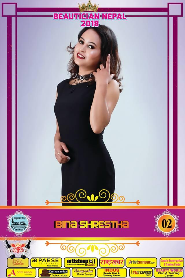 02-Beautician Nepal 2018 - BINA SHRESTHA- Amazon Entertainment- ArtistNepal