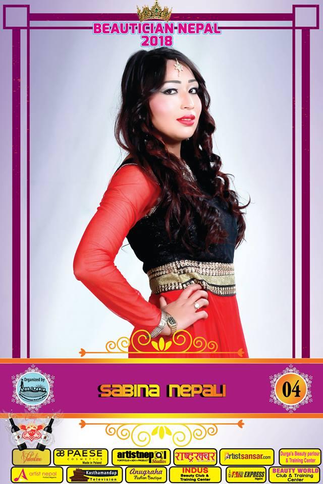 04-Beautician Nepal 2018 - SABINA NEPALI- Amazon Entertainment- ArtistNepal