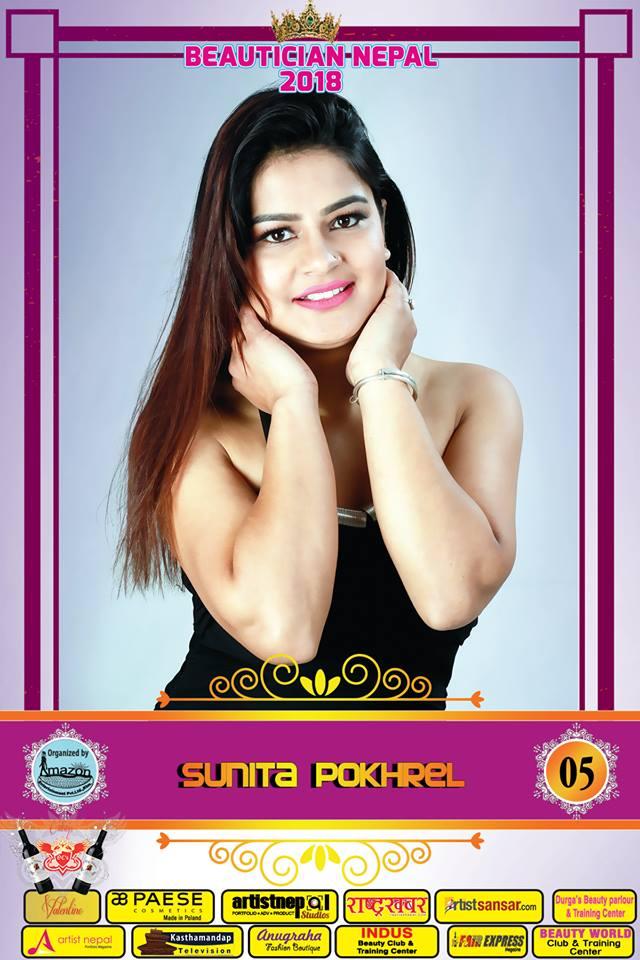 05-Beautician Nepal 2018 - SUNITA POKHAREL- Amazon Entertainment- ArtistNepal