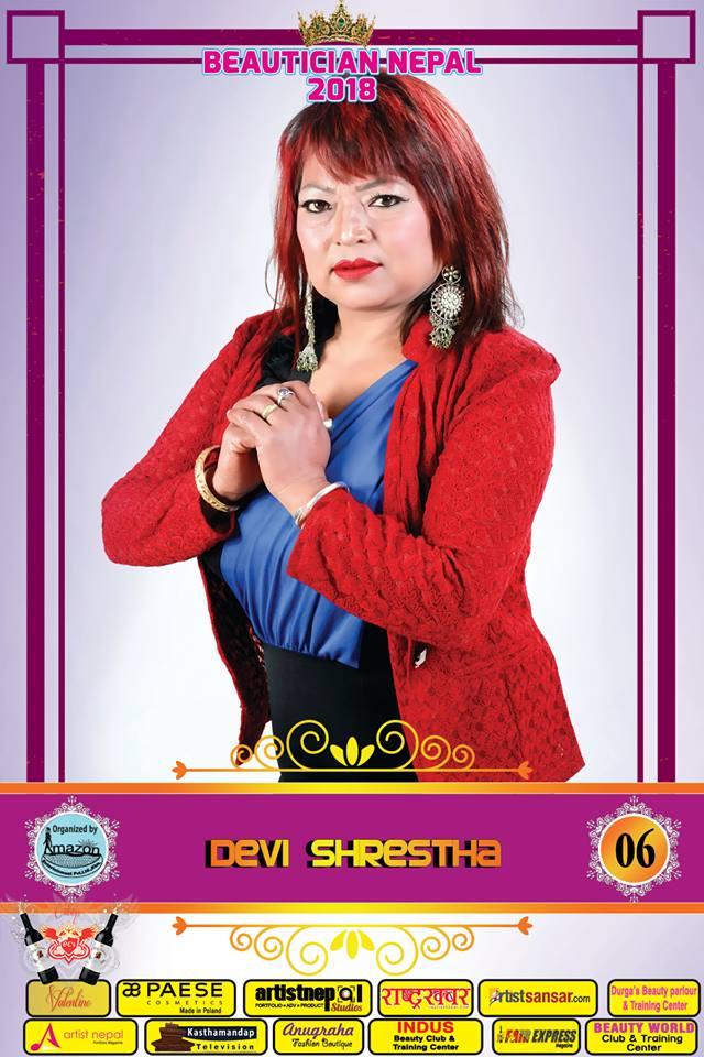 06-Beautician Nepal 2018 - DEVI SHRESTHA- Amazon Entertainment- ArtistNepal