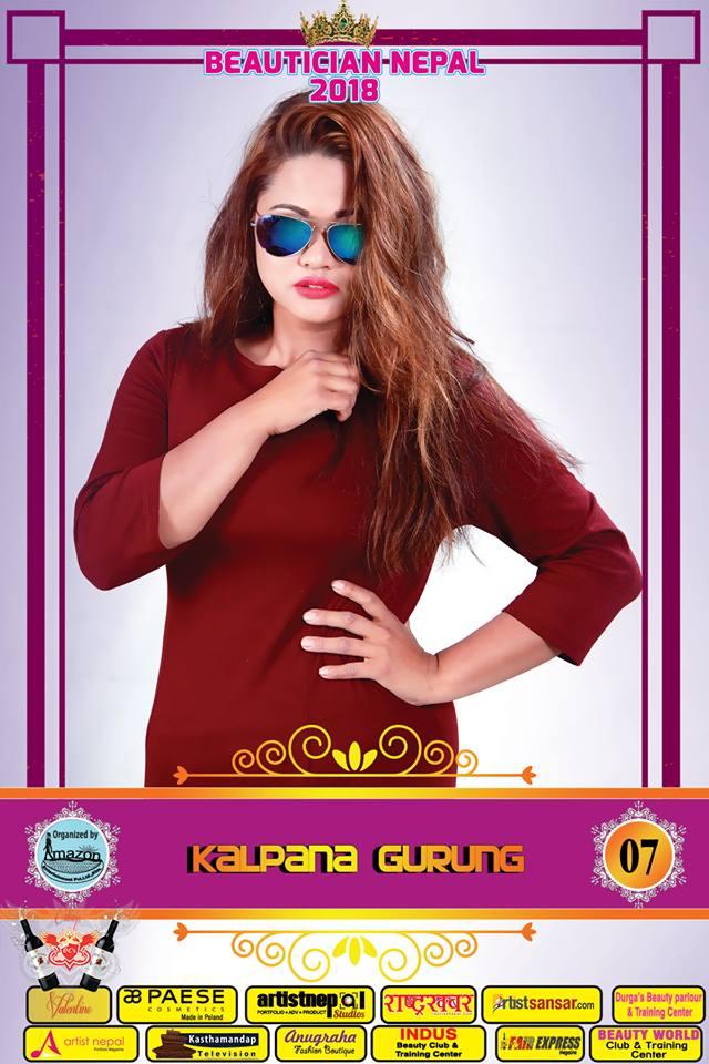 07-Beautician Nepal 2018 - KALPANA GURUNG - Amazon Entertainment- ArtistNepal