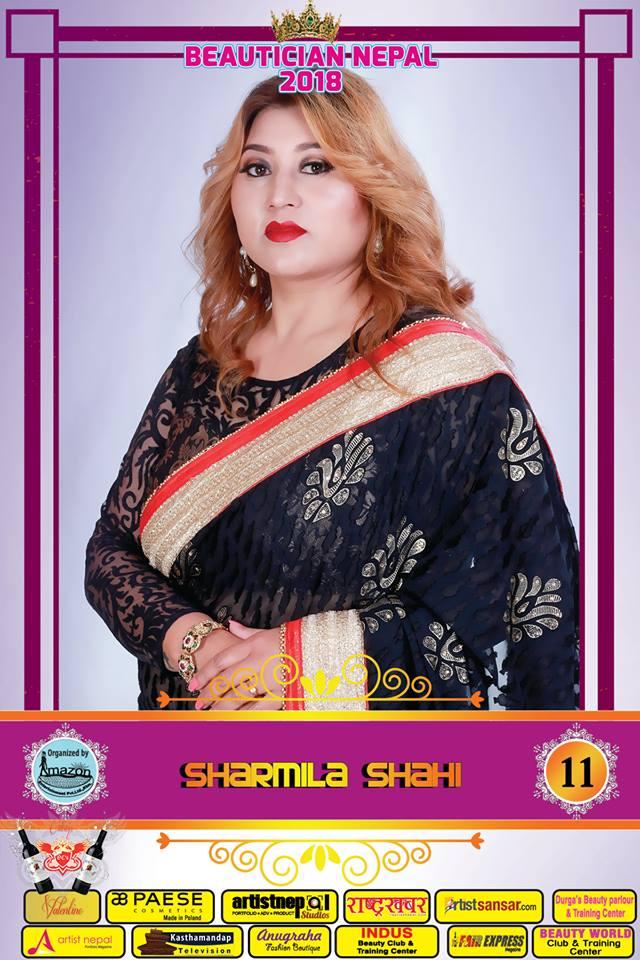 11-Beautician Nepal 2018 - SHARMILA SHAHI - Amazon Entertainment- ArtistNepal