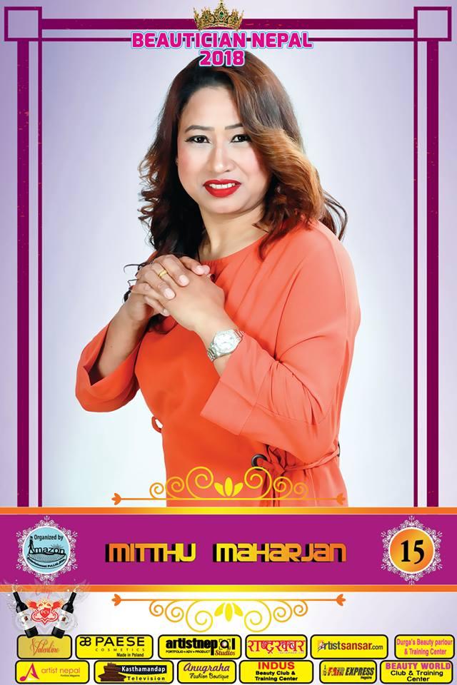 15-Beautician Nepal 2018 - MITTHU MAHARJAN - Amazon Entertainment- ArtistNepal