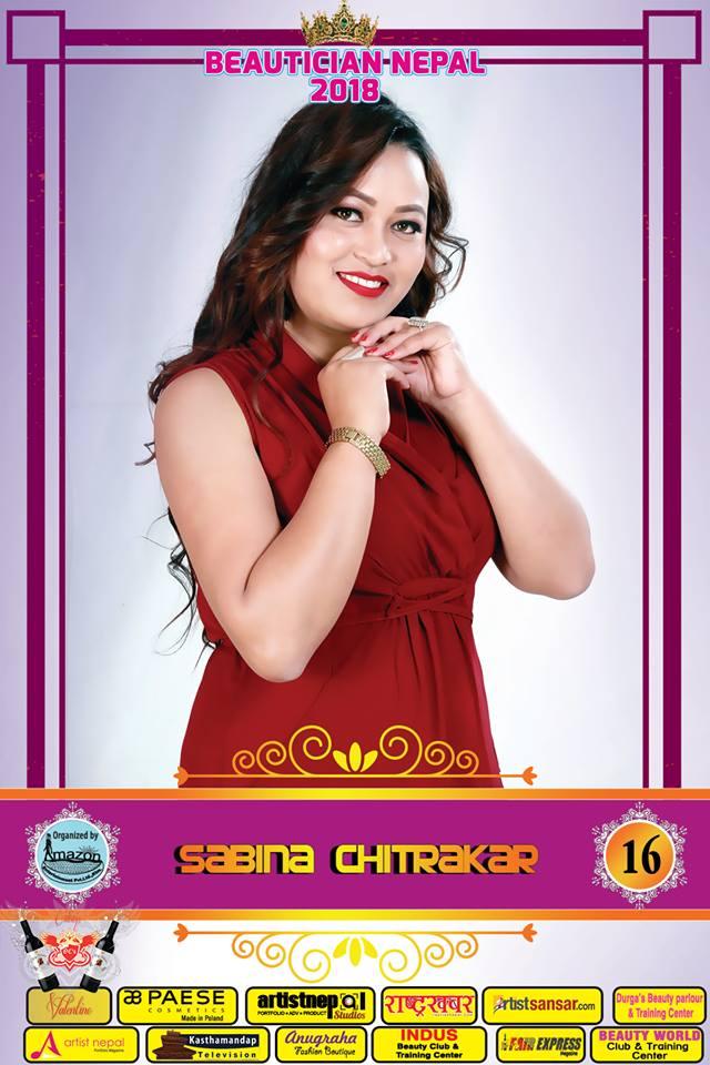 16-Beautician Nepal 2018 - SABINA CHITRAKAR - Amazon Entertainment- ArtistNepal