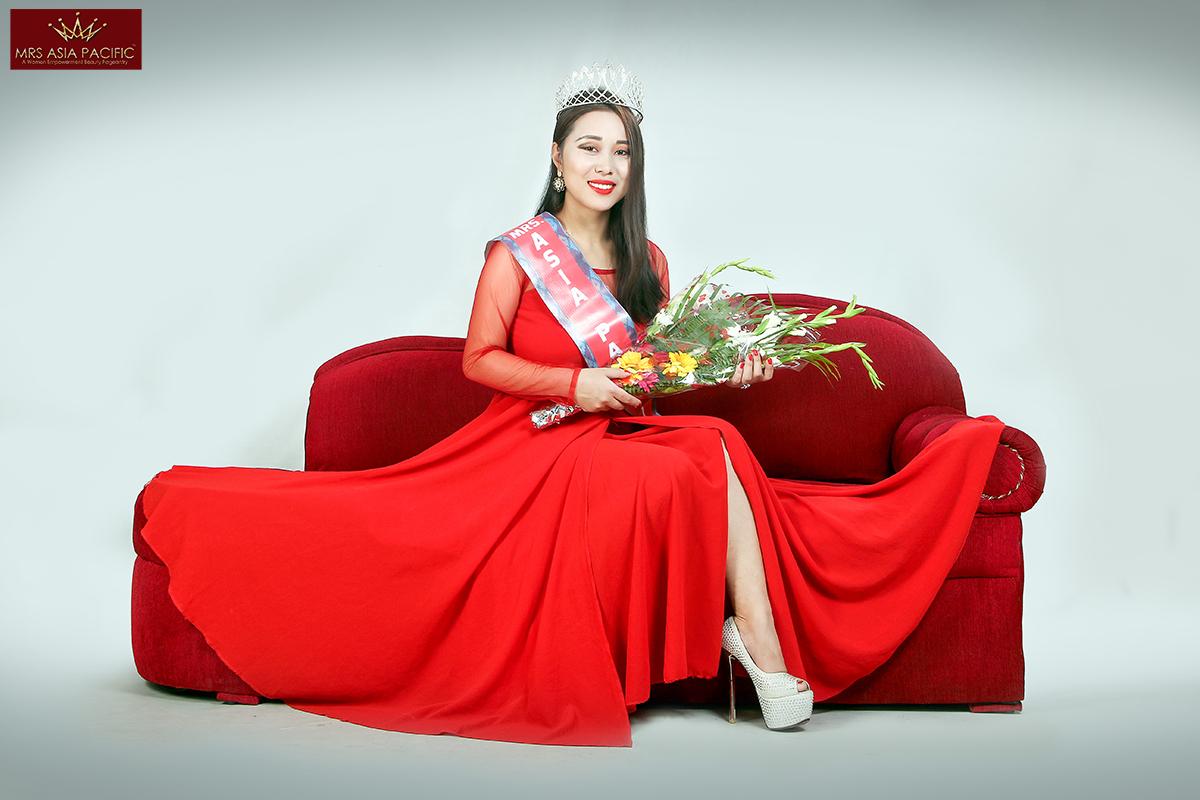 Mrs. Asia Pacific Beauty Pageant bindu lama2