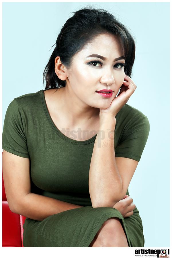ArtistNepal-Studios-Nisha Shrestha - Nepali Model - Modeling Agency   (11)