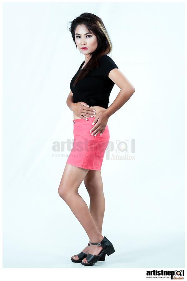 ArtistNepal-Studios-Nisha Shrestha - Nepali Model - Modeling Agency   (3)