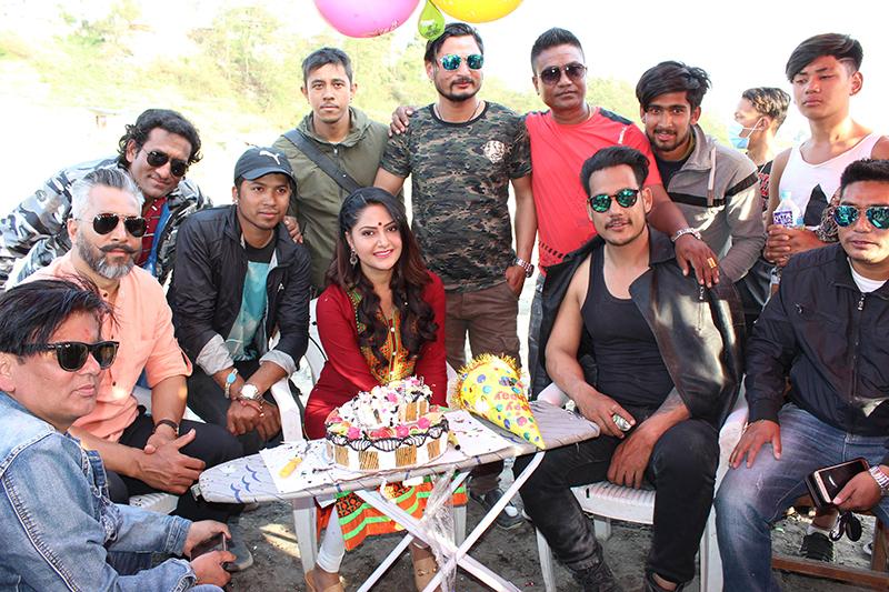 Barsha Siwakoti Birthday - jaya sambhu movie (2)