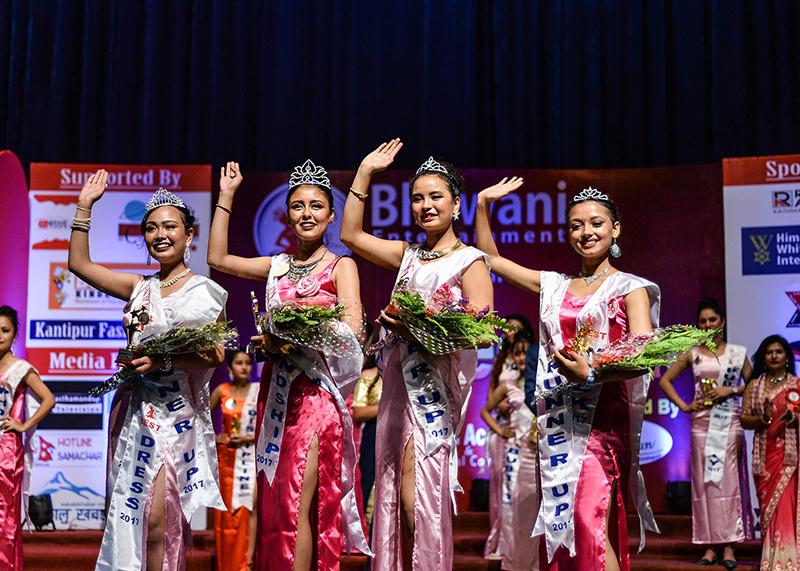 मिस एसइइ स्टार २०१७ क्रमश एलिजा बुढाथोकी बिजेता, अनुष्का मानन्धर फ्रस्ट रनर्स अप, अञ्जली शाह सेकेन्ड रनर्स अप र आयुष्मा नेपाल थर्ड रनर्स अप