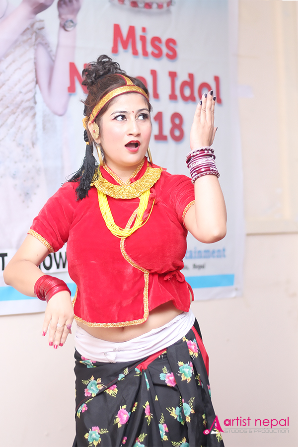 Miss Nepal Idol 2018 - Amazone Entertainment - Artistnepal Studios (chanda oli)