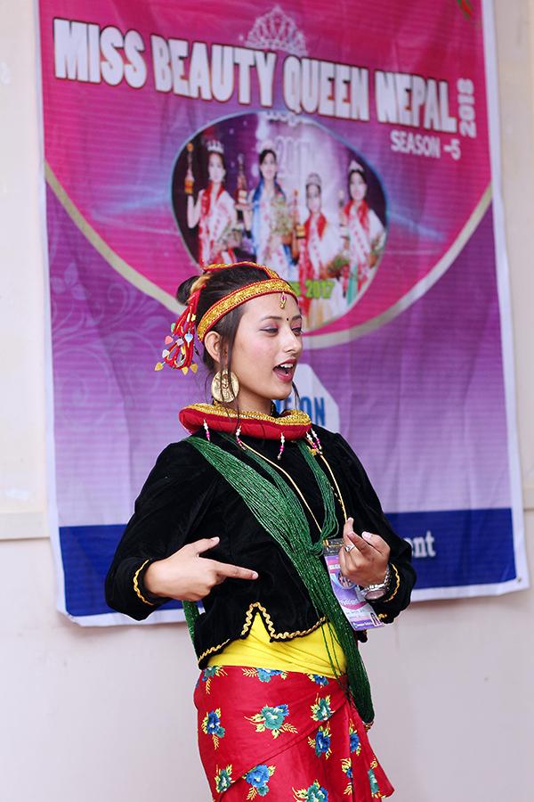 beauty qheen nepal & mrs nepal idol 2018 talent show - amazon entertainment (19)